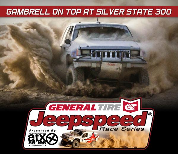Jeepspeed, Skylar Gambrell, General Tire, ATX Wheels, Best In The Desert