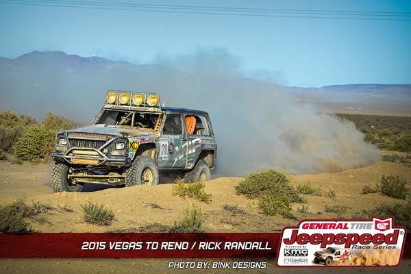 Jeepspeed, Rick Randall, General Tire, KMC Wheels, KC Hilites, King Shocks