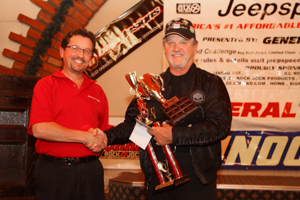 Billy Bunch Jeepspeed Champ