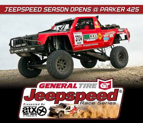 Jeepspeed Challenge, Bob Mamer, General Tire, ATX Wheels