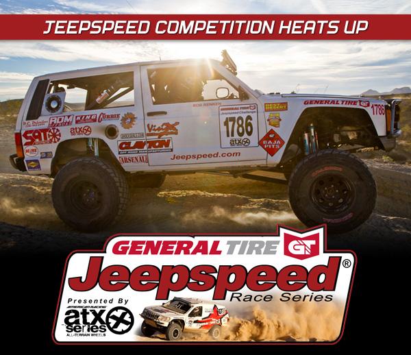 Jeepspeed Challenge, General Tire, ATX Wheels, The Mint 400