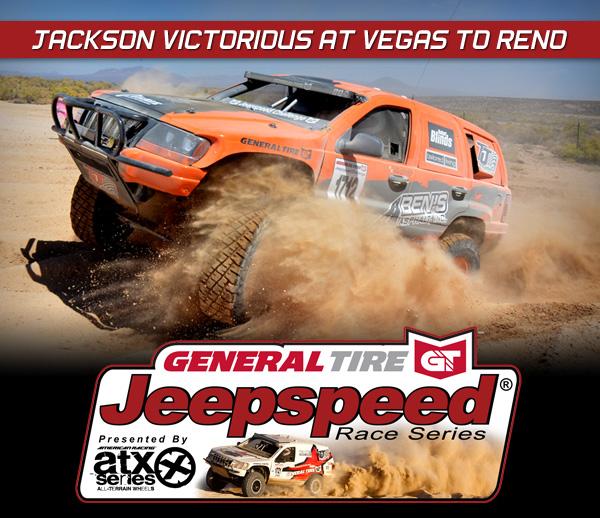 Jeepspeed Challenge, Todd Jackson, General Tire, ATX Wheels, Vegas To Reno