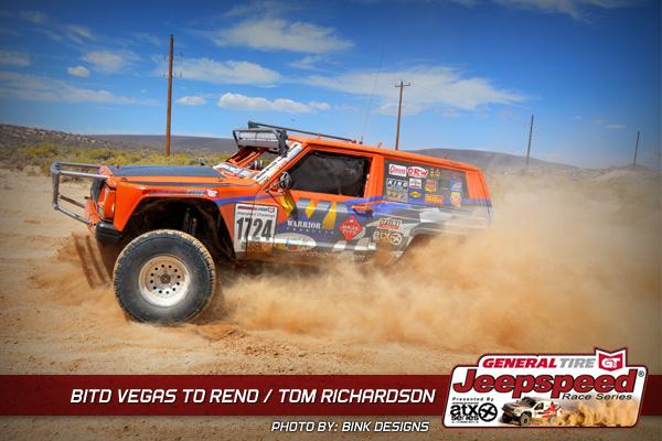 Tom Richardson, Vegas To Reno, General Tire, Bink Designs