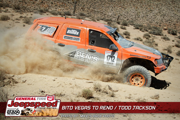 Todd Jackson Wins Vegas To Reno Jeepspeed