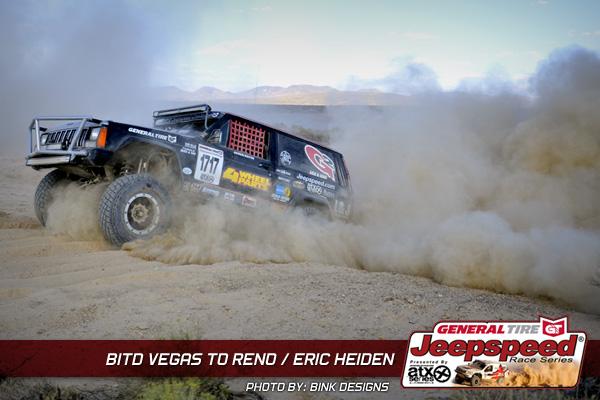 Eric Heiden, Vegas To Reno, General Tire