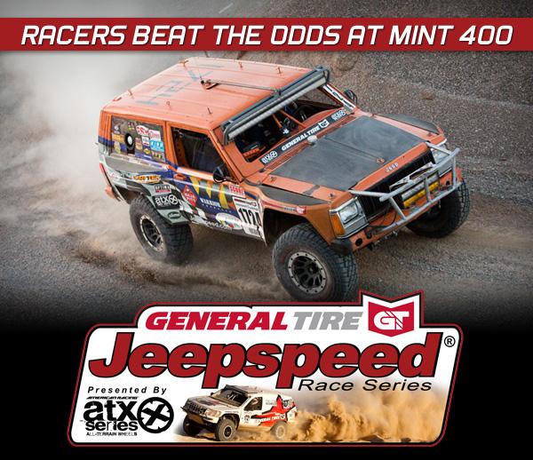 Jeepspeed, 2013 Jeepspeed Champions, General Tire, ATX Wheels, Best In The Desert
