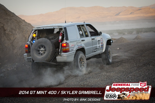 Sklyer Gambrell, The Mint 400, Jeepspeed, General Tire