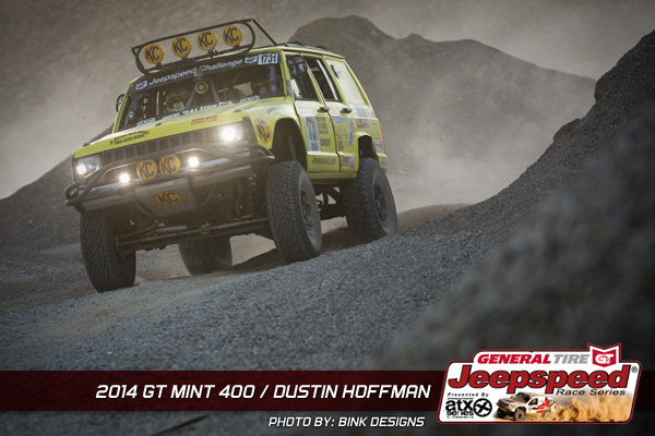 Dustin Hoffman, Jeepspeed, General Tire, ATX Wheels, Bink Designs