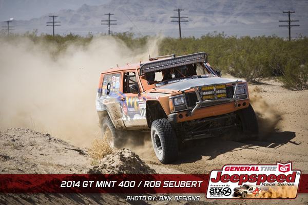 Rob Seubert, Jeepspeed Challenge, The Mint 400, General Tire, Bink Designs