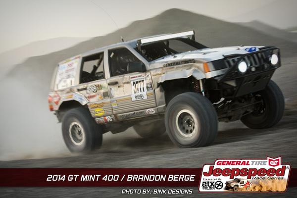 Brandon Berge, The Mint 400, Off Road Racing, Jeepspeed Cup, Bink Designs