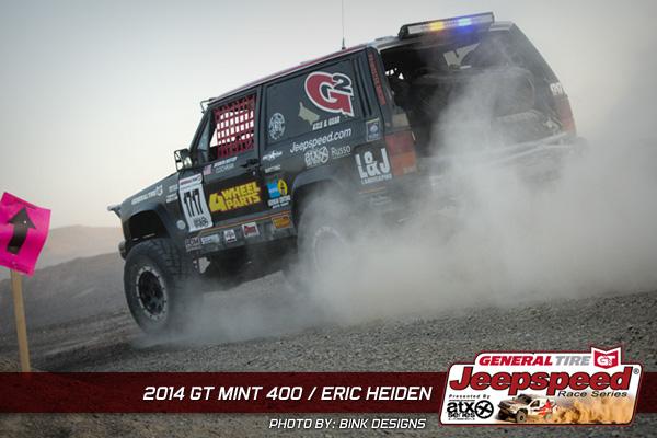 Eric Heiden, Jeepspeed Challenge, General Tire Mint 400, G2 Gear & Axle, 4 Wheel Parts