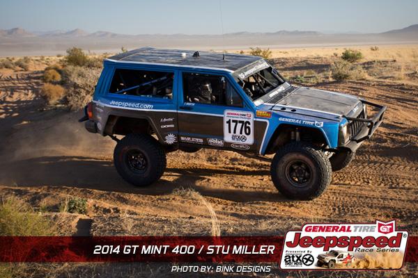 Stu Miller, Jeepspeed, General Tire, The Mint 400