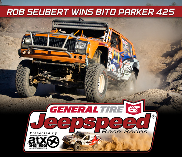 Jeepspeed, 2014 Parker 425, General Tire, ATX Wheels, Best In The Desert