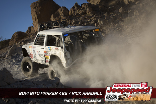 Rick Randall, Jeepspeed, ATX Wheels, Bink Designs, Randall Racing, Parker 425