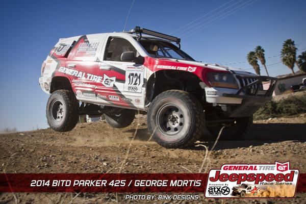 George Mortis, Jeepspeed, General Tire, Off Road, Parker 425, Best In The Desert