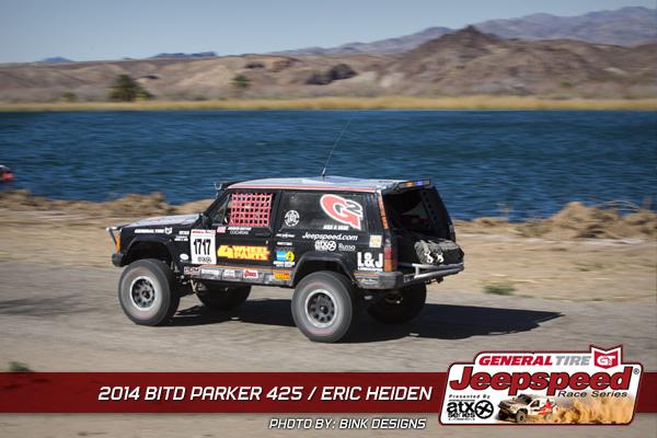 Eric Heiden, Jeepspeed, 4Wheel Parts, General Tire, G2 Gear & Axle