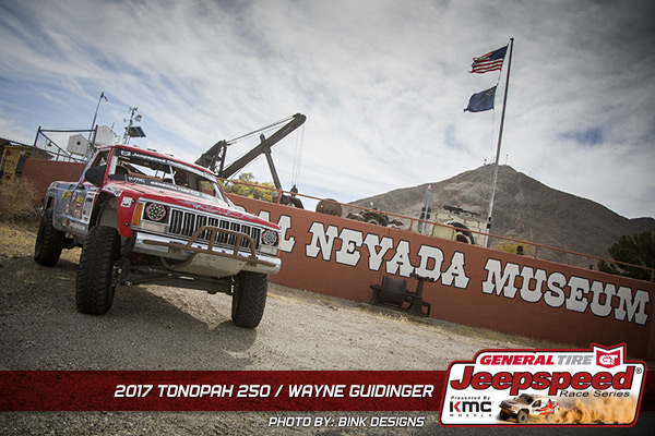 Wayne Guidinger, Jeepspeed, General Tire, GrabberX3, KMC Wheels, Tonopah 250, Bink Designs