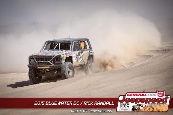 Rick Randall, Jeepspeed, Best In The Desert, General Tire, Bink Designs