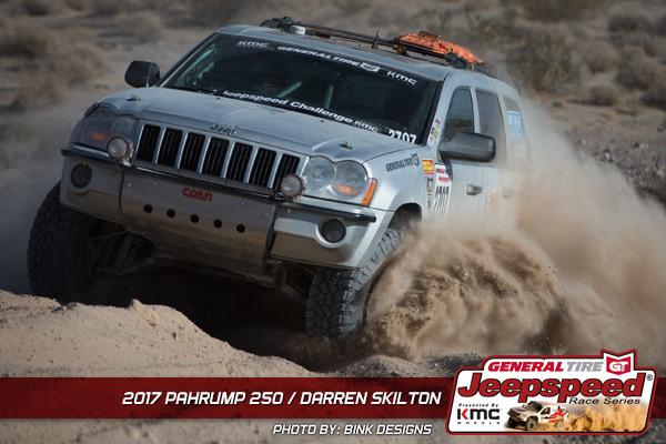 Jeepspeed, Darren Skilton, Clive Skilton, Jeep Cherokee, Pahrump 250, Bink Designs