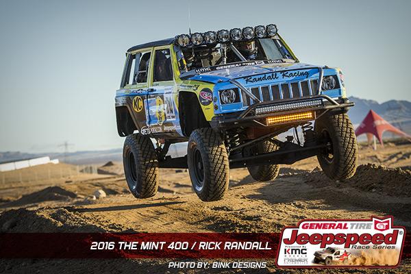 Rick Randall, Jeepspeed, Bink Designs, The Mint 400