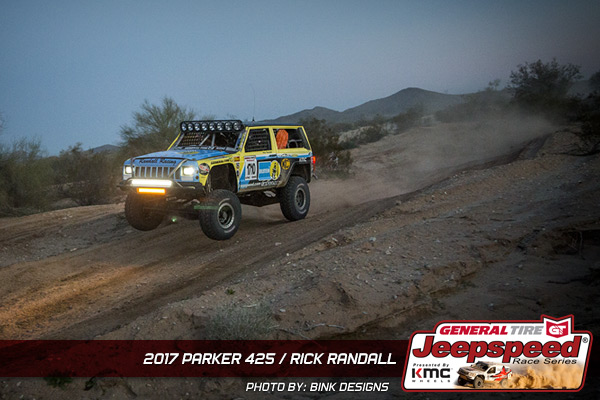 Rick Randall, Jeepspeed, General Tire, KMC Wheels, Bink Designs