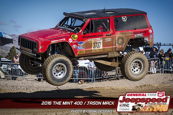 Jason Mack, Jeepspeed, The Mint 400, General Tire, King Shocks, Poly Performance, Bink Designs