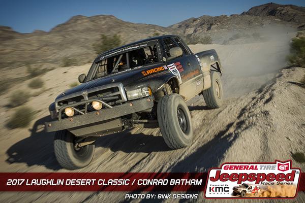 Conrad Batham, Jeepspeed, Dodge Ram