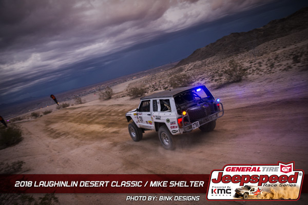 Mike Shelter, Bink Designs, Laughlin Desert Classic, General Tire, KMC Wheels, Off Road