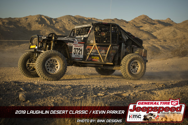 Kevin Parker, Jeepspeed, General Tire, KMC Wheels, Bink Designs