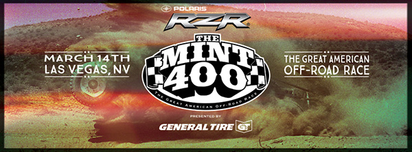 The Mint 400, General Tire, Polaris RZR, Las Vegas