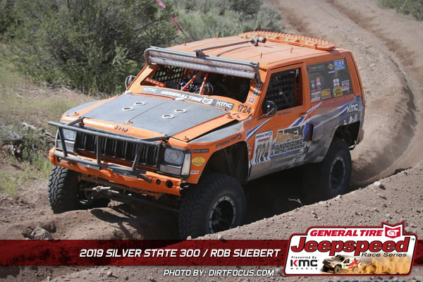 Rob Suebert, Jeepspeed, General Tire, KMC Wheels
