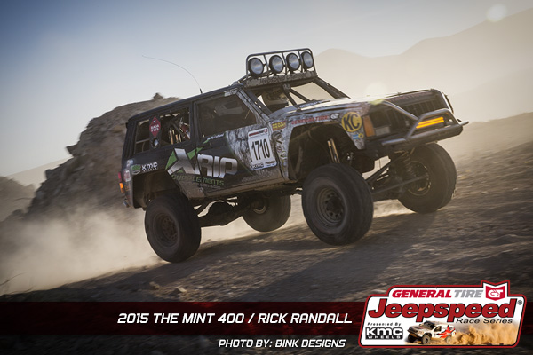 Rick Randall, Jeepspeed, The Mint 400, General Tire, Bink Designs