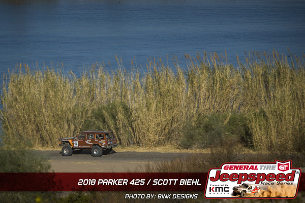 Scott Beihl, Jeepspeed, General Tire Grabber X3, KMC Wheels, Parker Arizona, Bink Designs