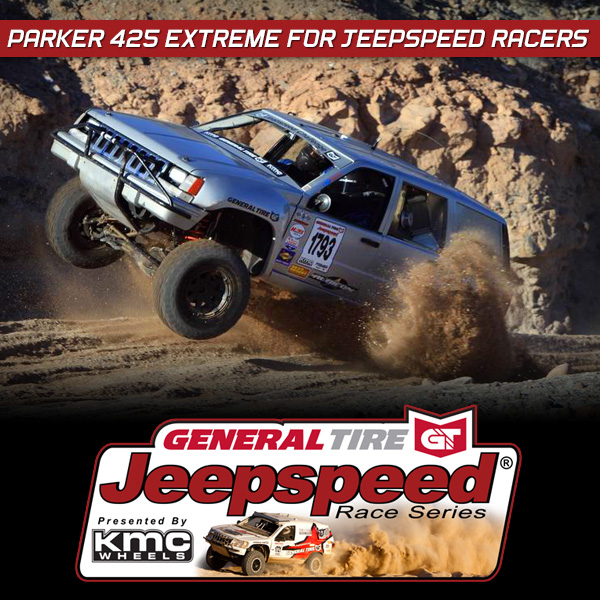General Tire Jeepspeed Parker 425, KMC Wheels