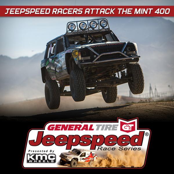 General Tire Jeepspeed Parker 425, KMC Wheels