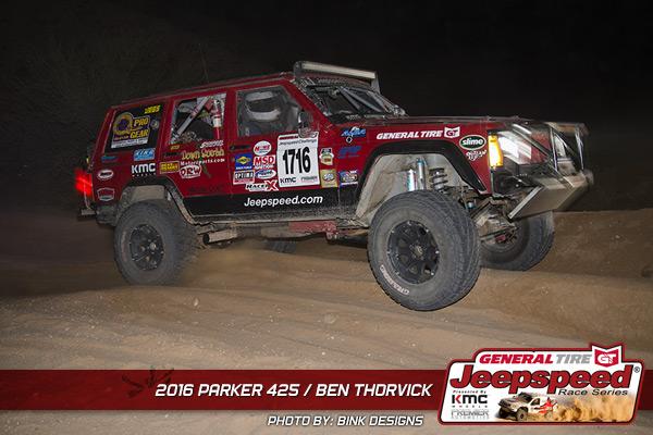 Ben Thorvick, Jeepspeed, KC Hilites, KMC Wheels