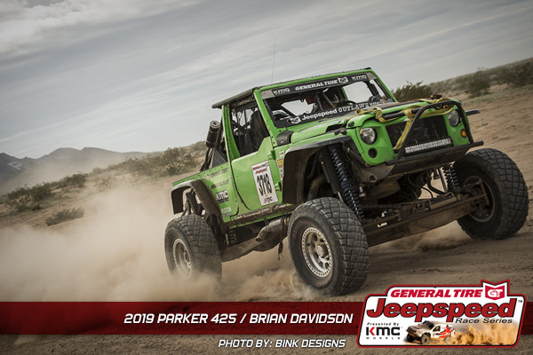 Brian Davidson, Jeepspeed, KMC Wheels, General Tire, Bink Designs