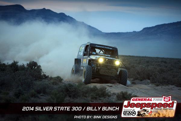 Jeepspeed, Billy Bunch, Siltbed, Off Road, Bink Designs