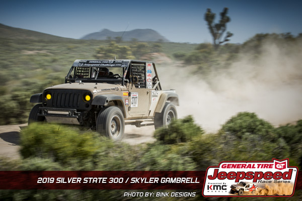 Skyler Gambrell, Jeepspeed, General Tire, KMC Wheels, Off Road
