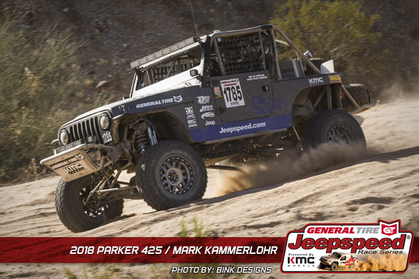 Mark Kammerlohr, Jeepspeed, General Tire, KMC Wheels, Jasper Racing Engines, T&J Performance, Bink Designs