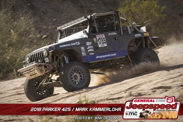Mark Kammerlohr, Jeepspeed, General Tire, KMC Wheels, Jasper Racing Engines, T&J Performance, Bink Designs