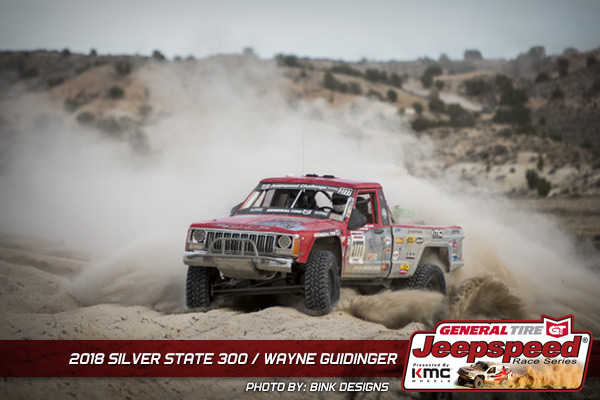 Wayne Guidinger, Jeepspeed, General Tire, KMC Wheels, Bink Designs