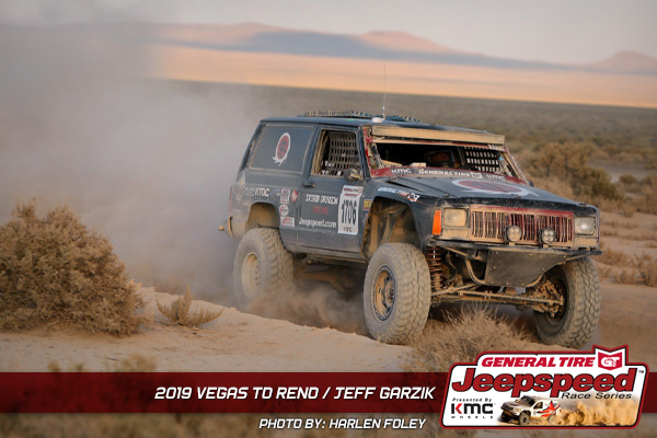 Jeff Garzik, Jeepspeed, General Tire, KMC Wheels