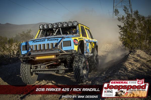 Rick Randall, Bilstein, General Tire, Bink Designs, Jeepspeed