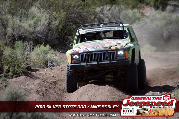 Mike Bosley, Jeepspeed, General Tire, KMC Wheels