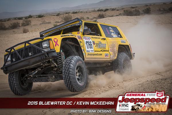 Kevin McKeehan, Jeepspeed, Bluewater Desert Challenge, King Shocks, Currie Enterprises, Bink Designs