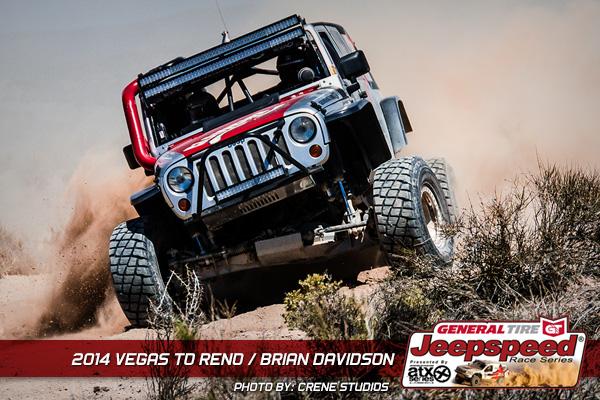 Brian Davidson, Magpul, Vegas To Reno, Jeepspeed