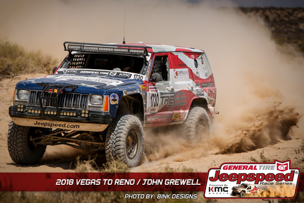 Jeepspeed, KMC Wheels, General Tire, Vegas To Reno, GG Lighting, Bink Designs
