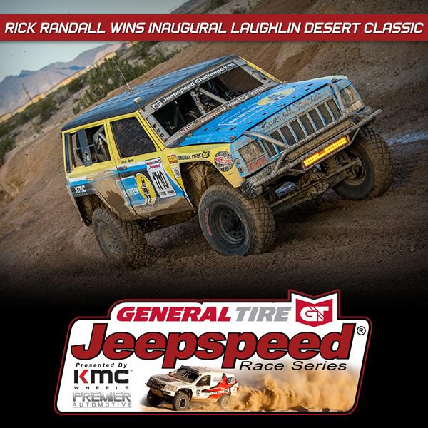 Randall Wins, Gambrell Maintains Jeepspeed Podium Streak At Laughlin Desert Classic
