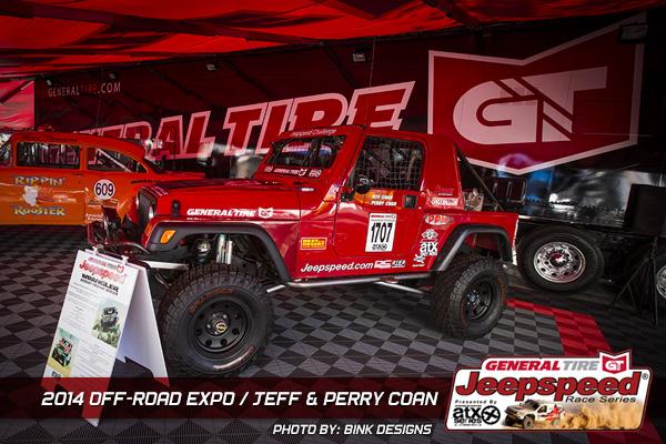 Perry Coan, General Tire, Off Road Expo, ATX Wheels